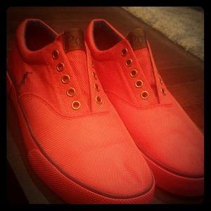 Ralph Lauren Polo Canvas Mens Shoes